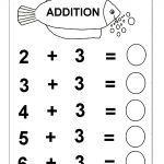 Beginner Addition – 6 Kindergarten Addition Worksheets / Free   Free Printable Preschool Addition Worksheets