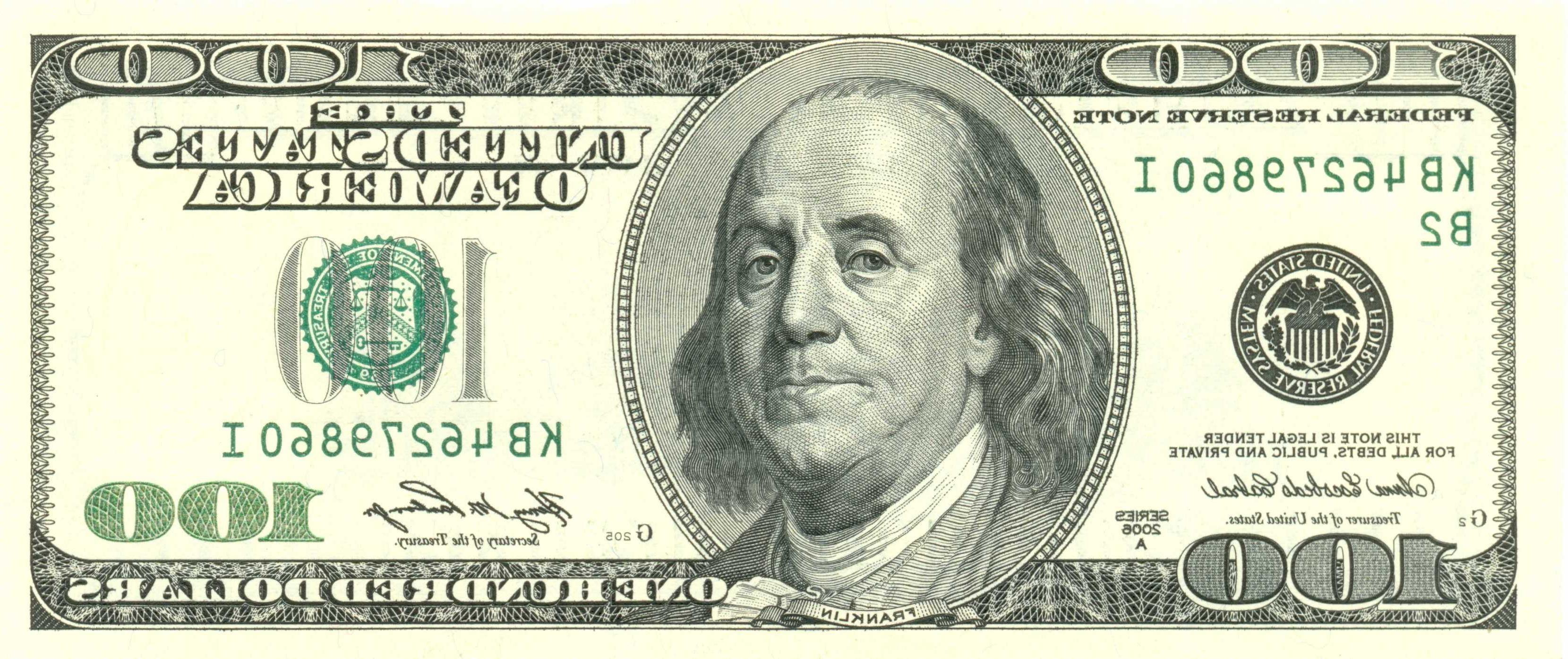 Best 100 Dollar Bill Printable Vector Pictures » Free Vector Art - Free Printable 100 Dollar Bill