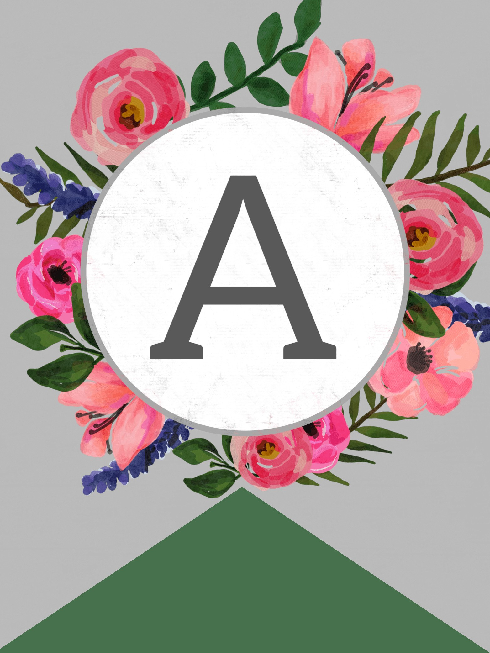 Best Of Free Printable Alphabet Letters Banner | Www.pantry-Magic - Free Printable Flower Letters