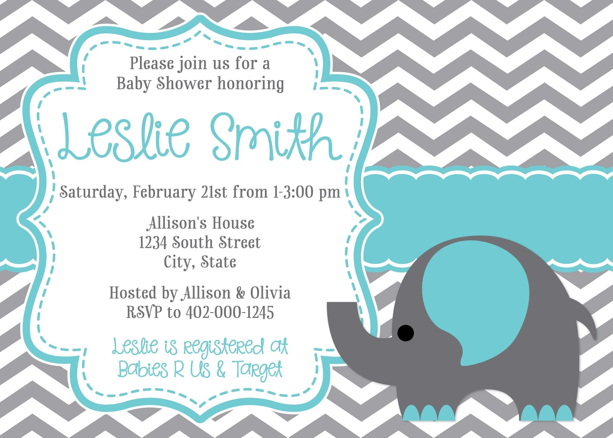 Best Of Free Printable Baby Girl Shower Invitation Templates | Www - Free Printable Baby Shower Invitations Templates For Boys