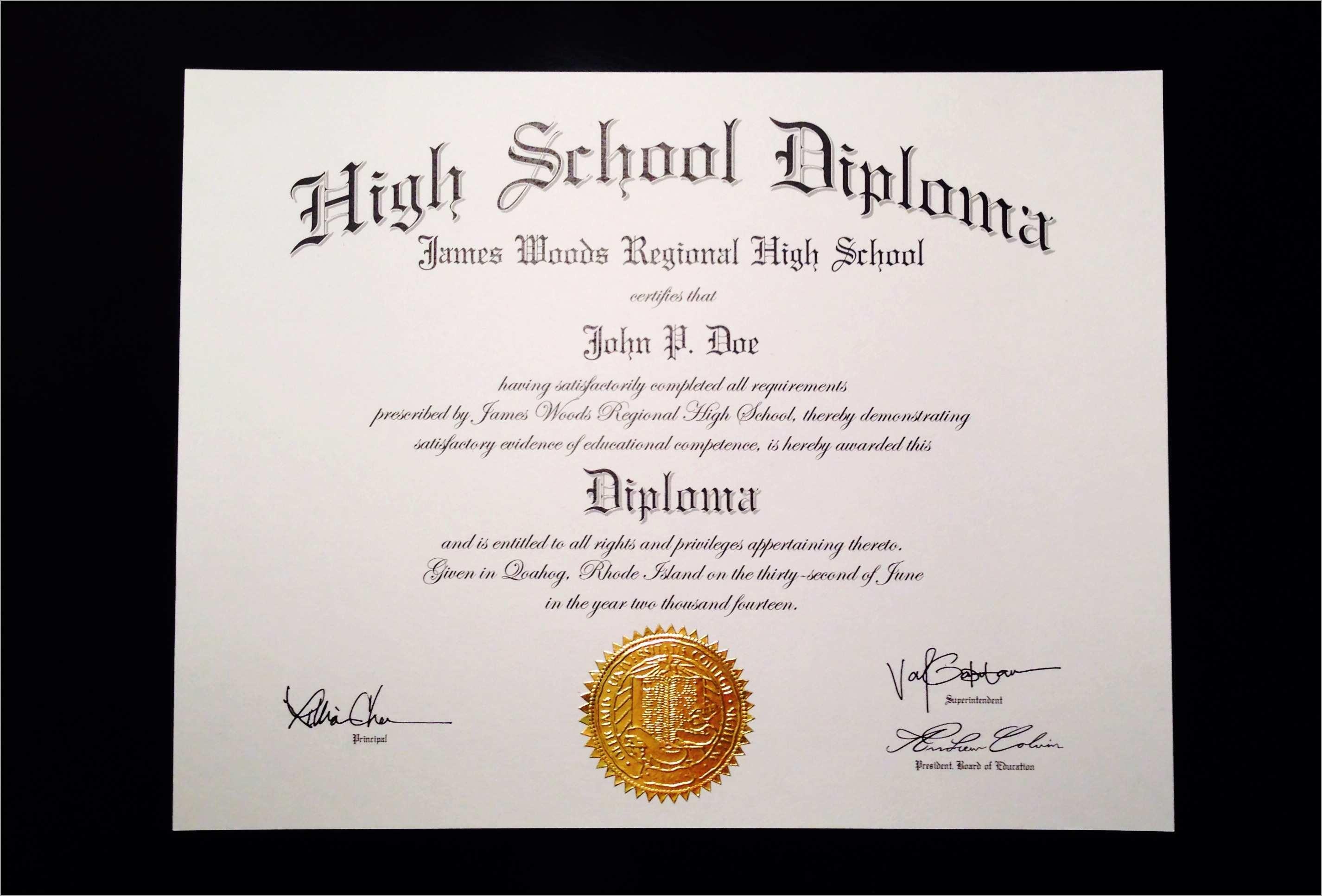 Best Of Free Printable Diploma Template | Best Of Template - Free Printable Diploma Template