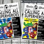 Best Of Marvel Party Invitation Template Free | Best Of Template   Avengers Party Invitations Printable Free