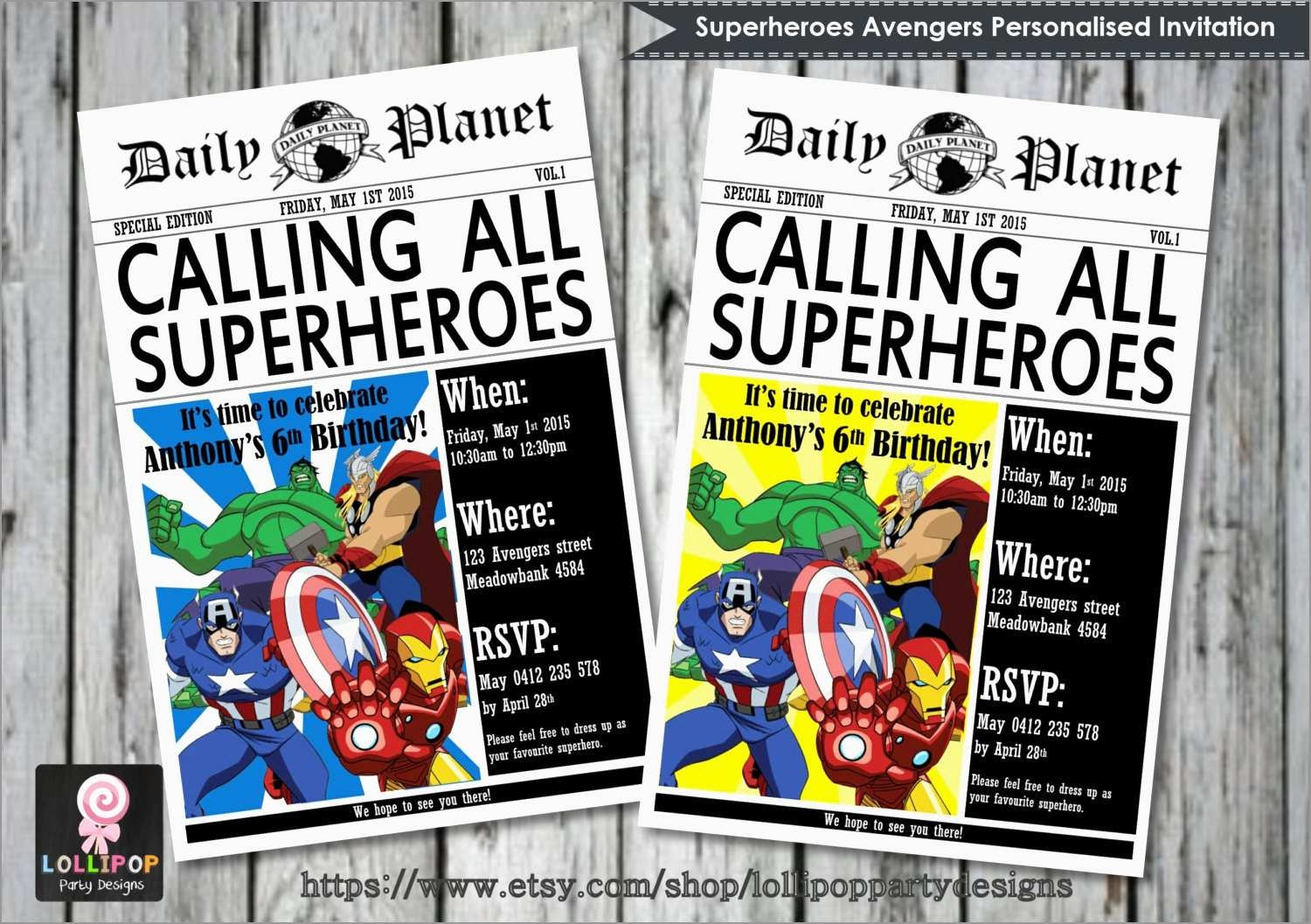 Best Of Marvel Party Invitation Template Free | Best Of Template - Avengers Party Invitations Printable Free