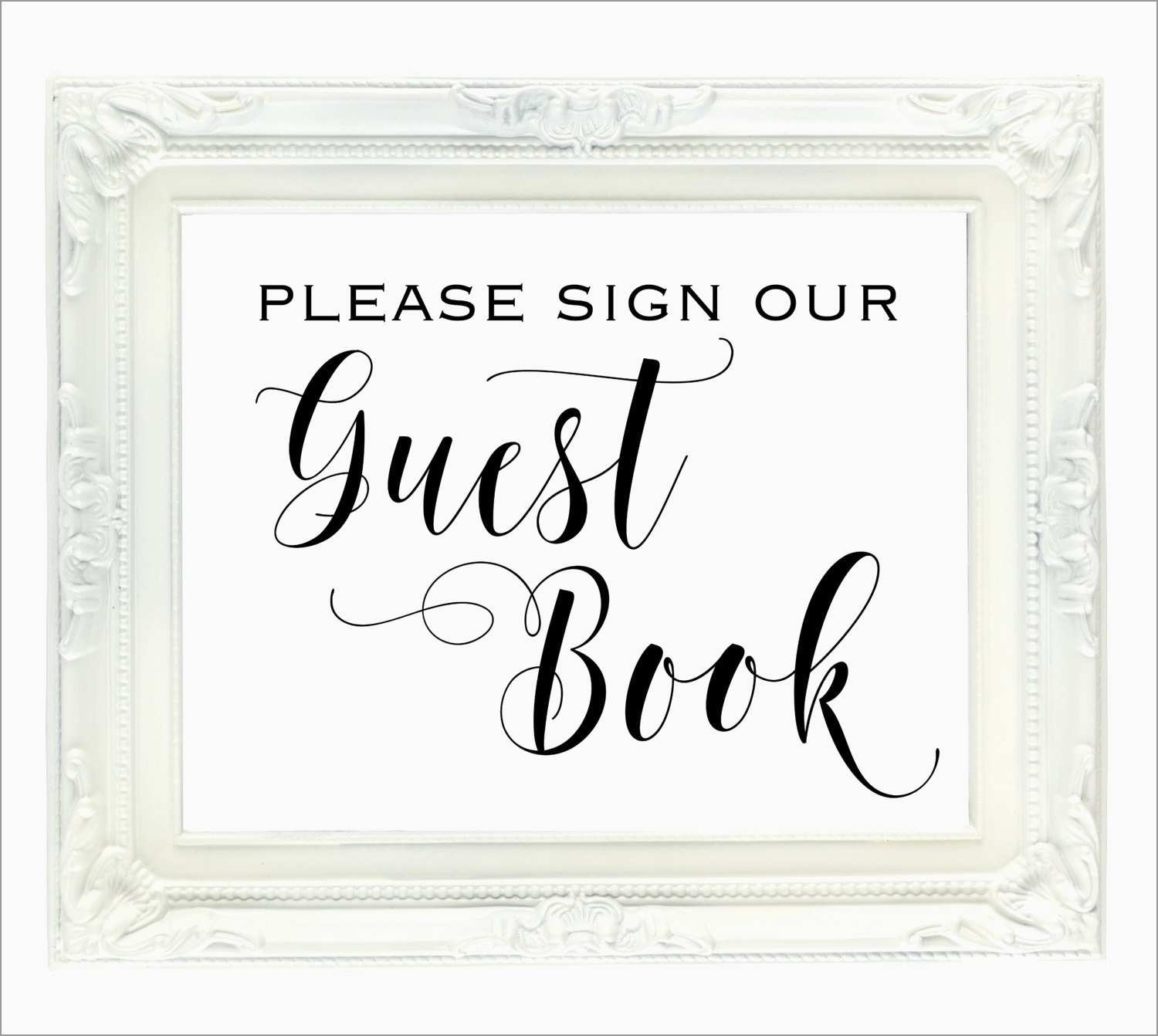 Best Of Please Sign Our Guestbook Free Template   Best Of Template - Please Sign Our Guestbook Free Printable