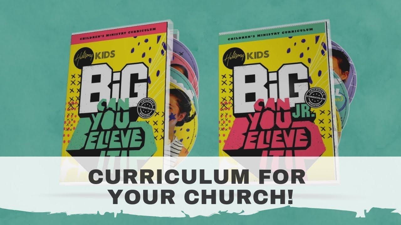 Big Curriculum | Kids - Free Printable Children's Church Curriculum