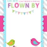Bird Birthday Party With Free Printables   How To Nest For Less™   Free Printable Birthday Invitation Cards