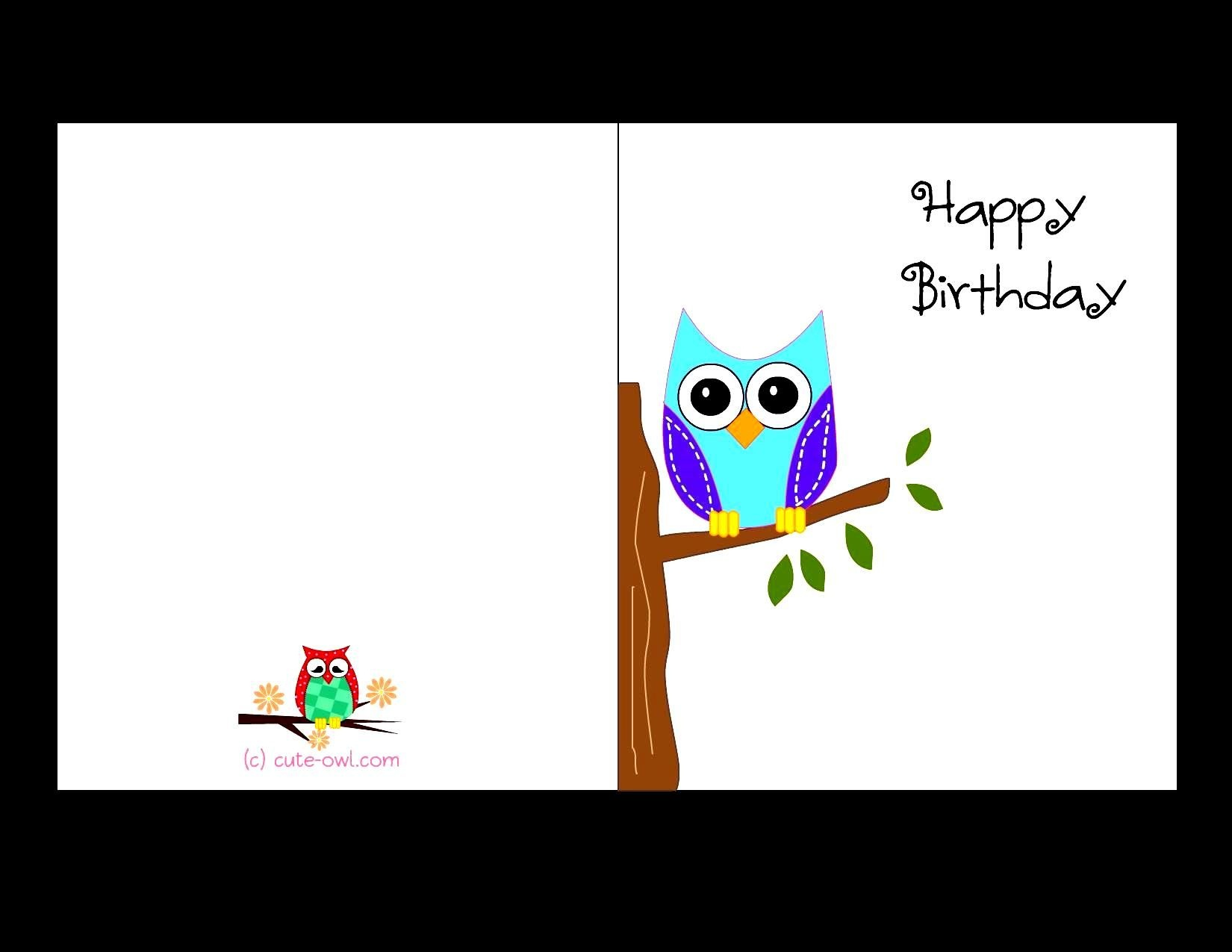 Birthday Cards For Printable - Demir.iso-Consulting.co - Free Printable Birthday Cards For Adults