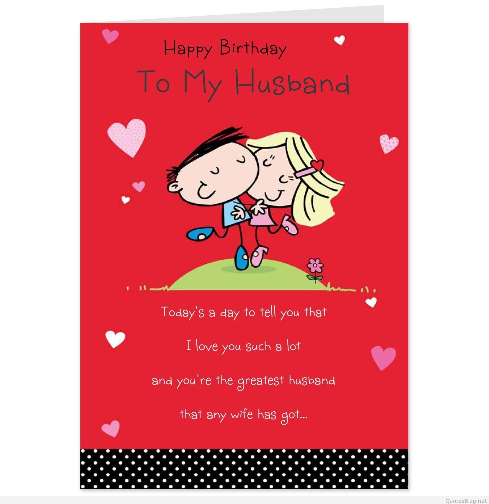 Birthday-Invitations-Card-Romantic-Birthday-Wishes-To-Husband-For - Free Printable Romantic Birthday Cards