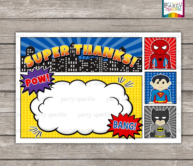 Birthday Party Dresses : Agreeable Superhero Birthday Party - Free Printable Superhero Birthday Invitation Templates