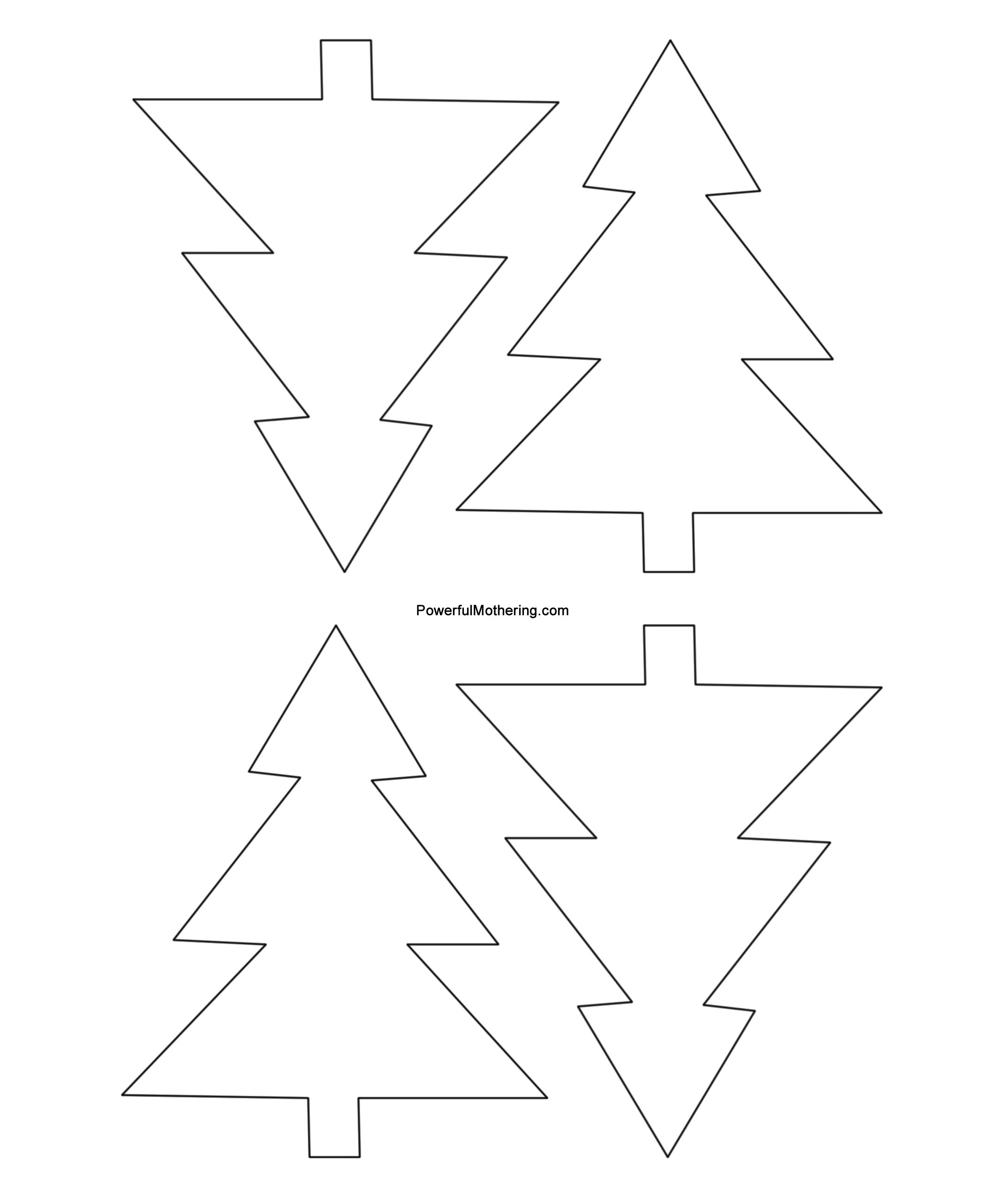 Blank Christmas Shapes Templates - Bing Images | Winter/christmas - Free Printable Christmas Cutouts