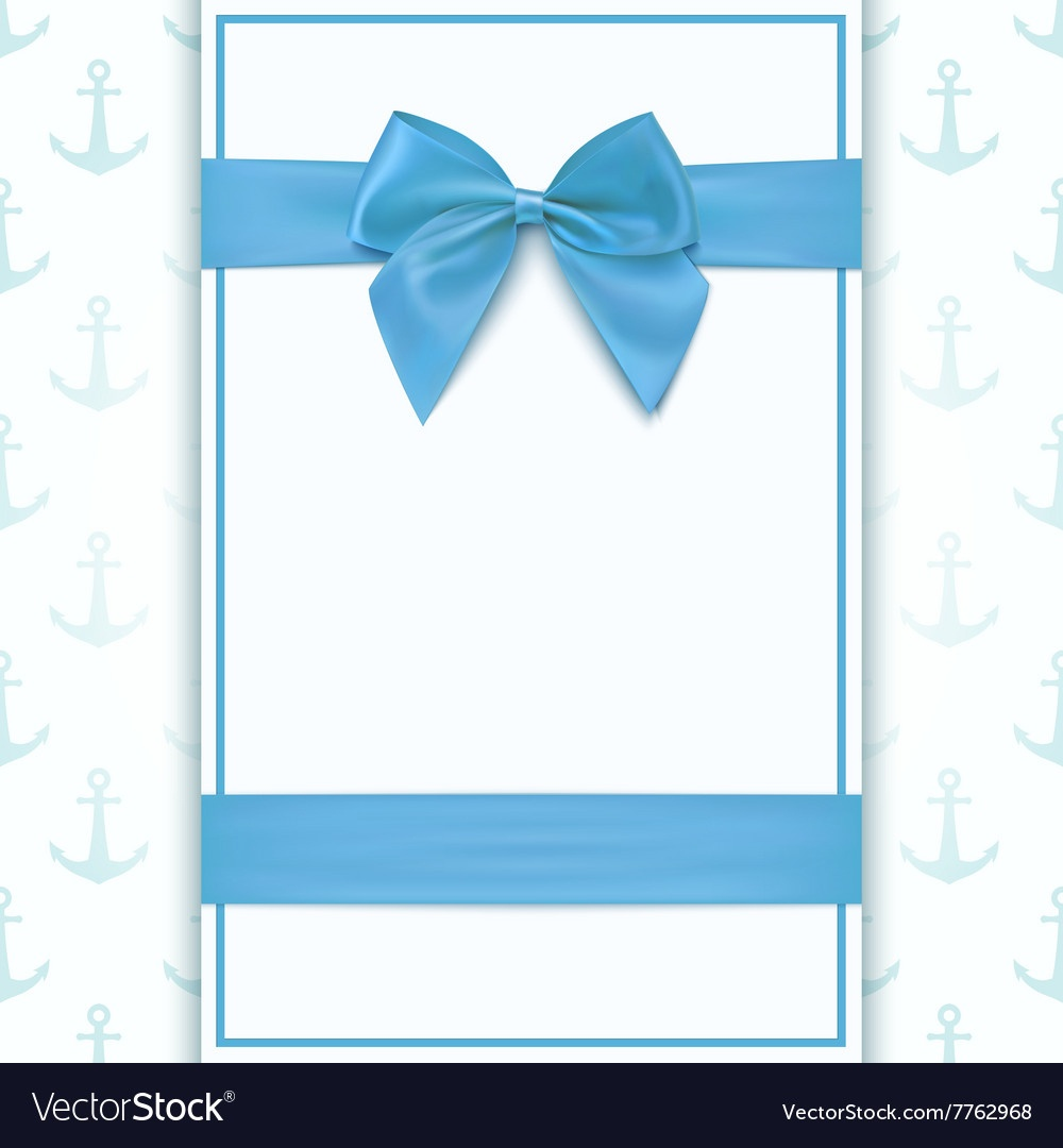 Blank Greeting Card Template Royalty Free Vector Image - Free Printable Blank Greeting Card Templates