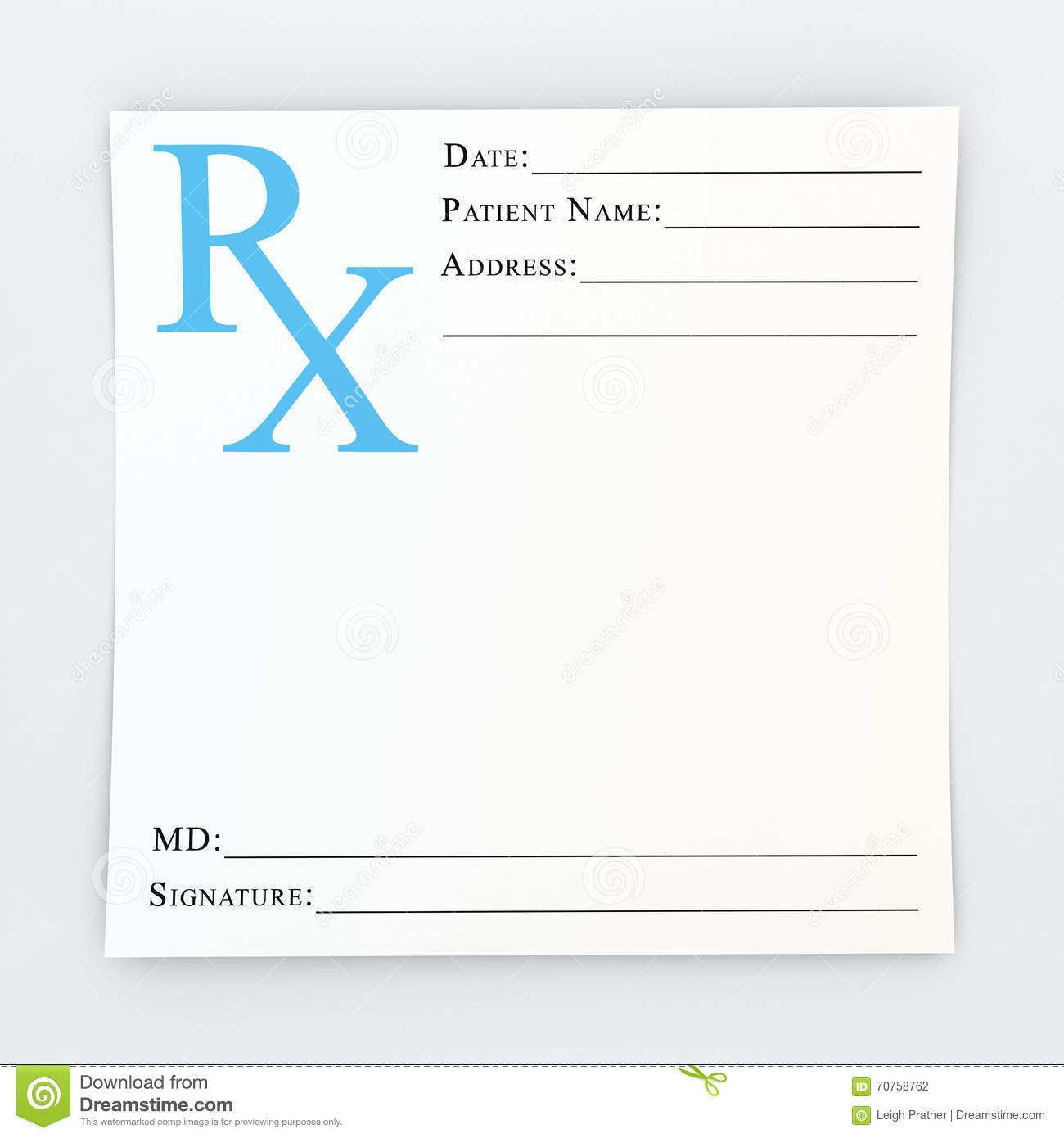 Blank Prescription Pad Free Download - Demir.iso-Consulting.co - Free Printable Prescription Pad