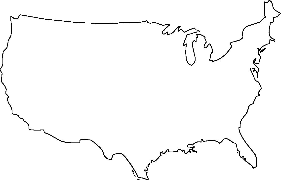 Blank Us Map - Dr. Odd | Geography | United States Map, Map, Map Outline - Free Printable Outline Map Of United States