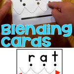 Blending Cards For Early Readers   Free Printable Blending Cards