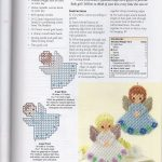 Bluebell And Rosebud Angels | Plastic Canvas | Plastic Canvas   Free Printable Plastic Canvas Christmas Patterns