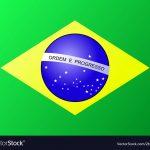 Brasil Brazil Flag Royalty Free Vector Image   Vectorstock   Free Printable Brazil Flag
