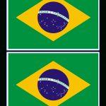 Brazil Flag   Free Printable Brazil Flag | Templates | Brazilië   Free Printable Brazil Flag