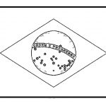 Brazil Flags For Coloring | Work | Brazil Flag, Flag Coloring Pages   Free Printable Brazil Flag