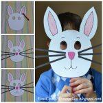 Bunny Mask {Preschool Craft} | Kid Blogger Network Activities   Free Printable Easter Masks