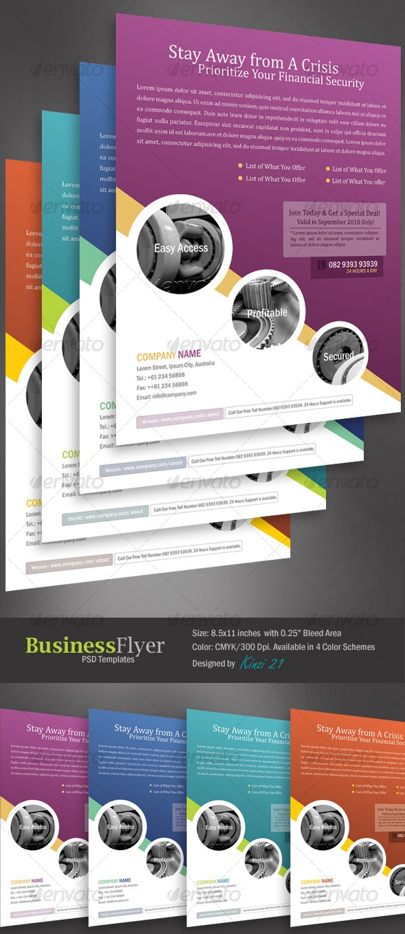 Business Flyer Templates From Graphicriver - Business Flyer Templates Free Printable