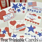 Cards To Support Our Troops   Free Printable   Organized 31   Free Printable Military Greeting Cards
