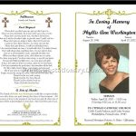 Celebration Of Life Templates For Word Free   Aol Image Search   Free Printable Memorial Card Template