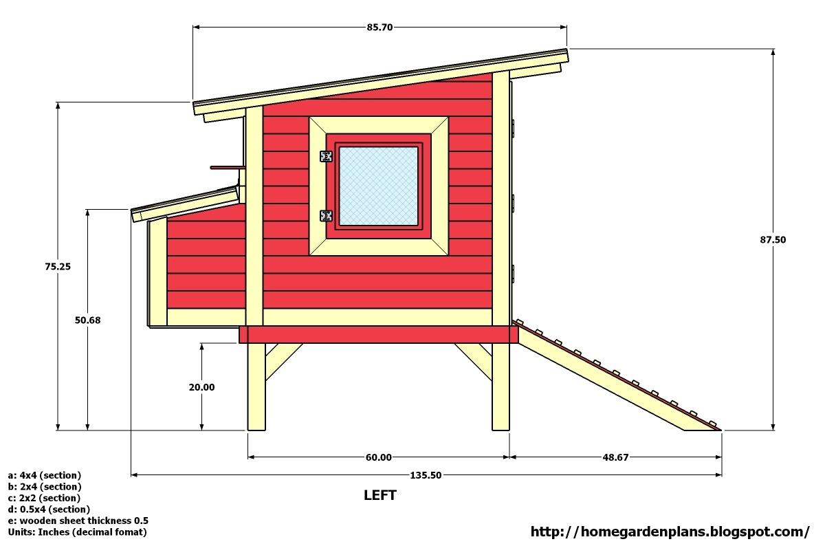 Chicken Coop Blueprints Free Download Info | Coop Channel - Free Printable Chicken Coop Plans