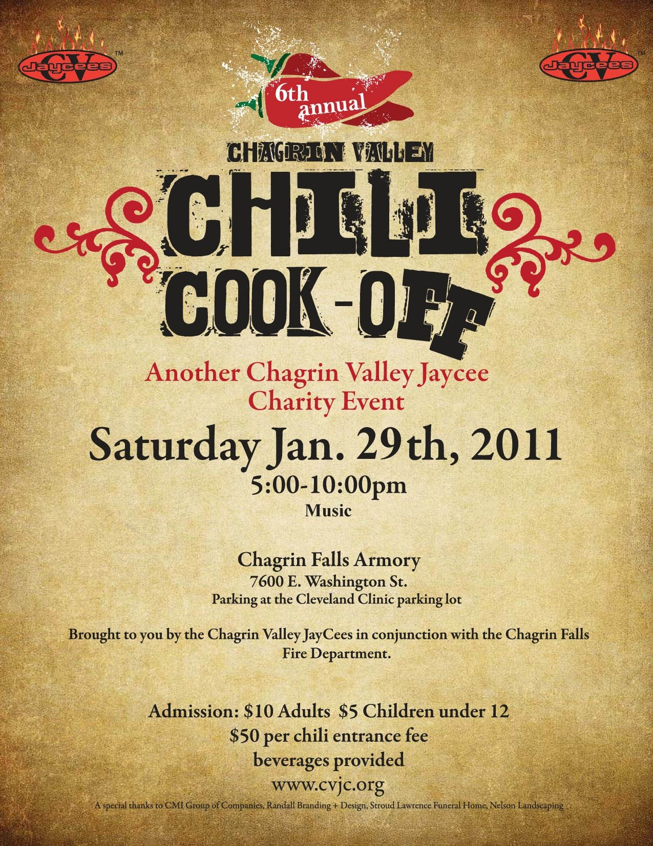 Chili Cook Off Flyer Template Free Printable - Wow - Image - Free Printable Fundraiser Flyer Templates