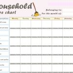 Chore Chart For Adults   Demir.iso Consulting.co   Chore Chart For Adults Printable Free