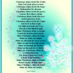 Christian Christmas Poems About Angels   Christian Images In My   Free Printable Christian Christmas Poems