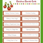 Christmas Charades   Family Christmas Party Game   Free Printable Christmas Charades Cards