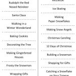 Christmas Charades (Free Printable Party Game) | Christmas | Daily   Free Printable Christmas Charades Cards