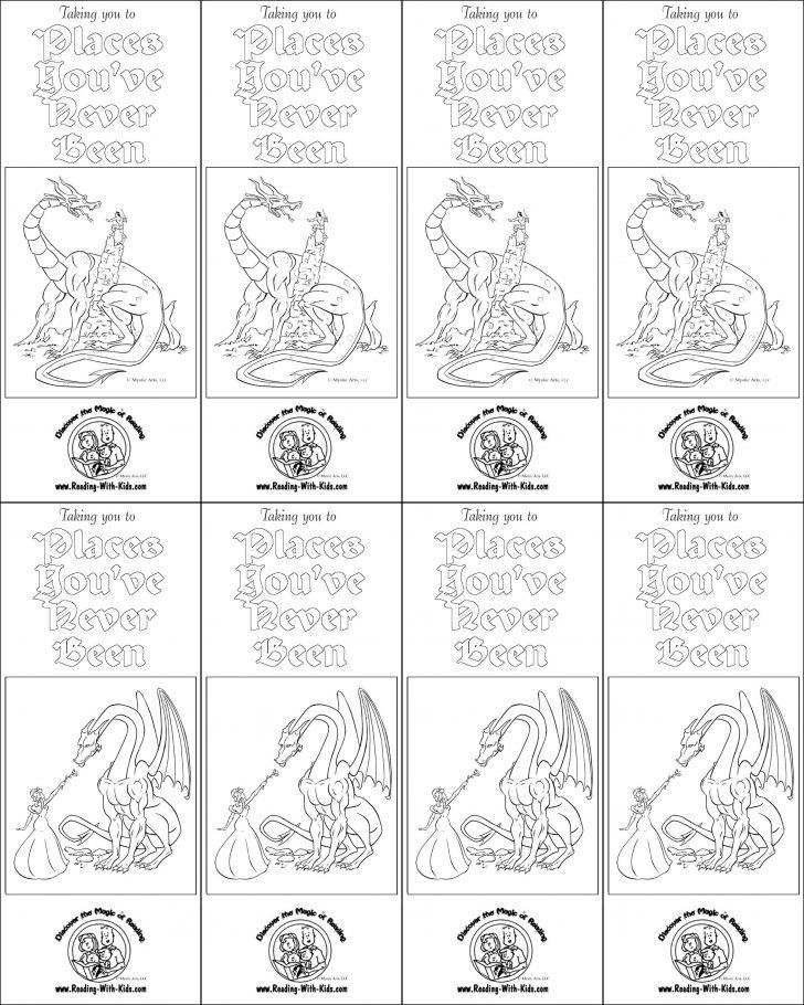Free Printable Christmas Bookmarks To Color