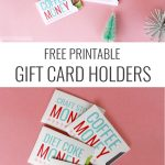 Christmas Gift Card Sleeves   Free Printable! | Holidays | Christmas   Free Printable Christmas Money Holder Cards
