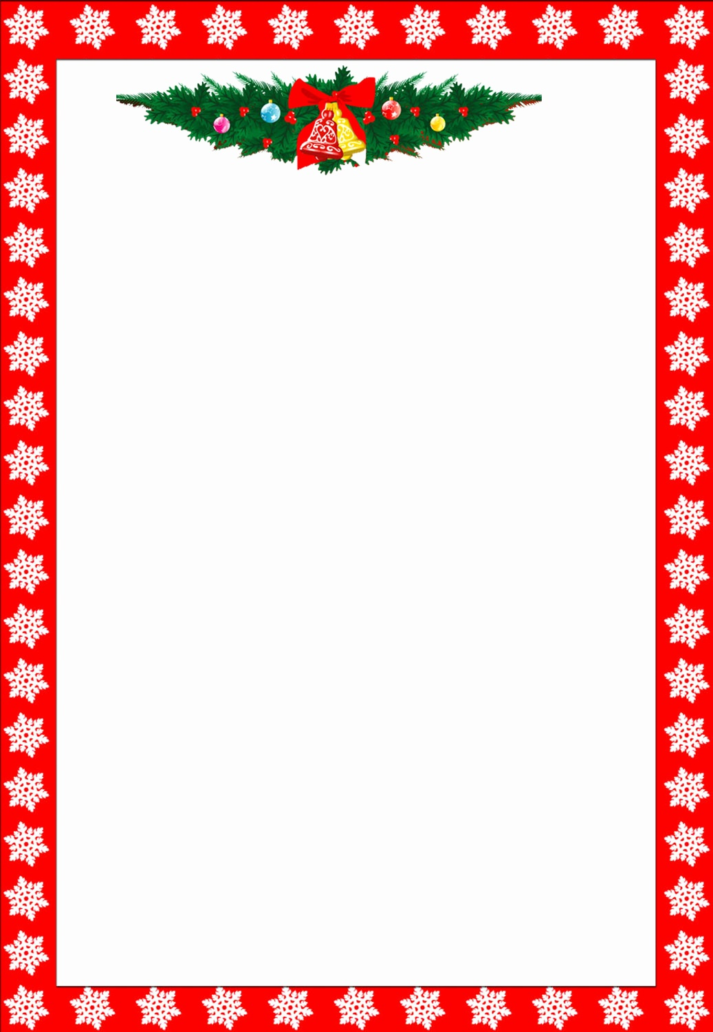 Christmas Letterhead Template Free Free Printable Christmas - Free Printable Christmas Stationary Paper