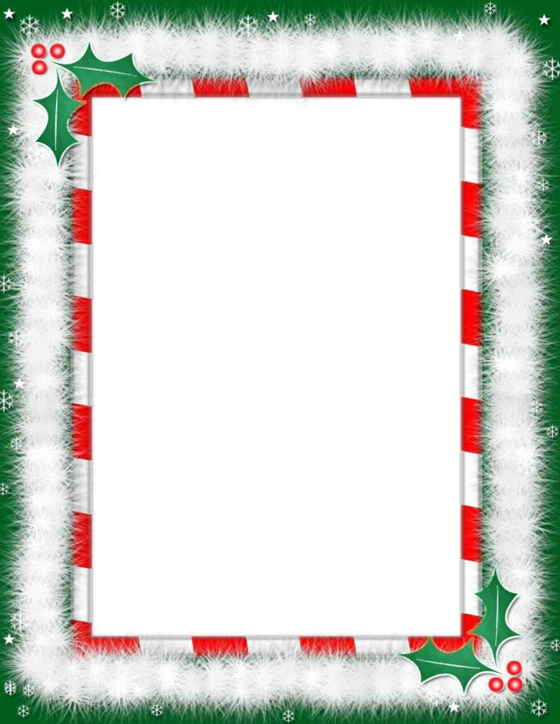 Christmas Page Border Landscape | Baby Its Christmas!!! | Free - Free Printable Page Borders Christmas