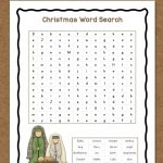 Christmas Word Search: Free Printable   Mamas Learning Corner   Free Printable Christmas Puzzles Word Searches
