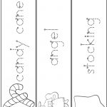 Christmas Word Tracing Practice | A To Z Teacher Stuff Printable   Free Printable Name Tracing Worksheets