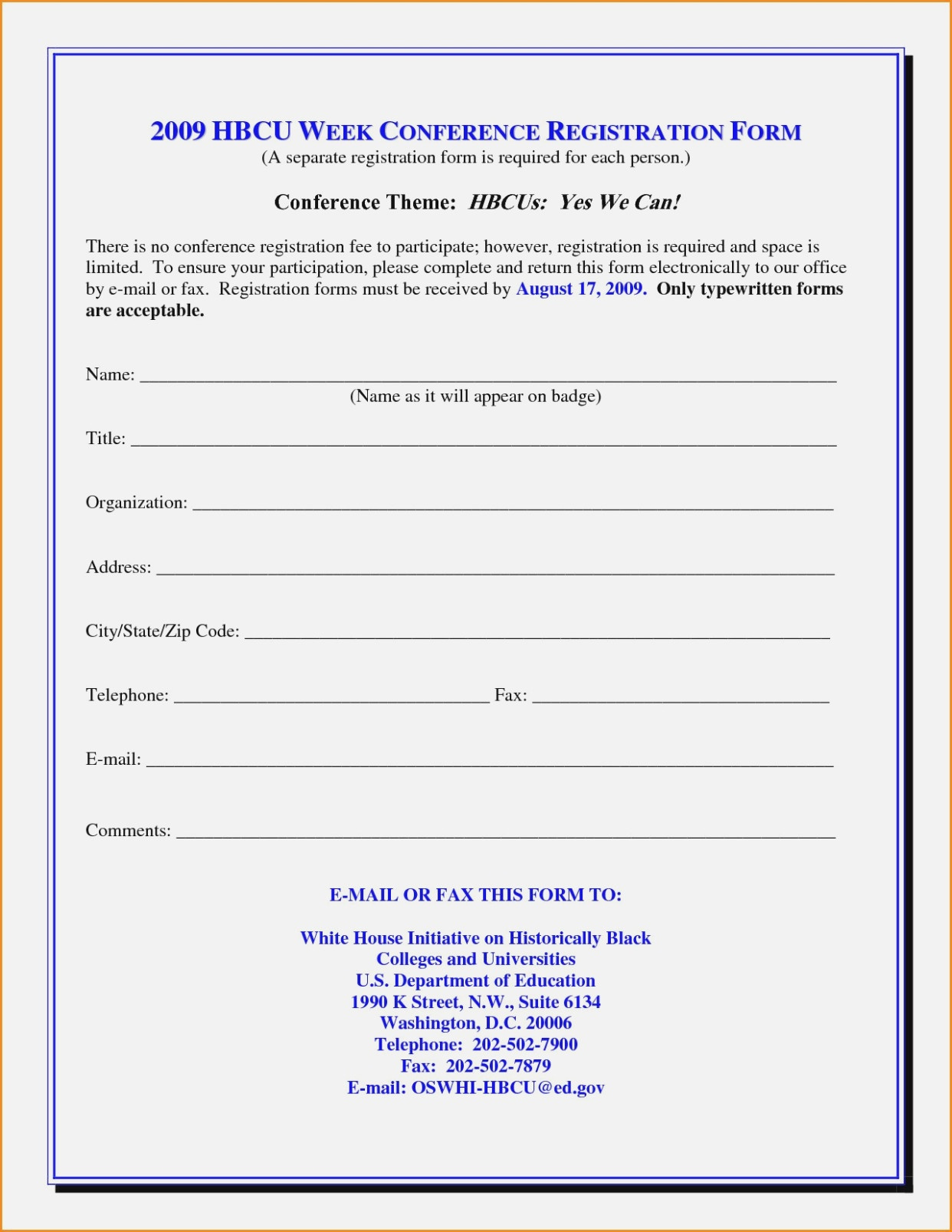Church Membership Form Template Word New Printable Vbs Registration - Free Printable Membership Forms