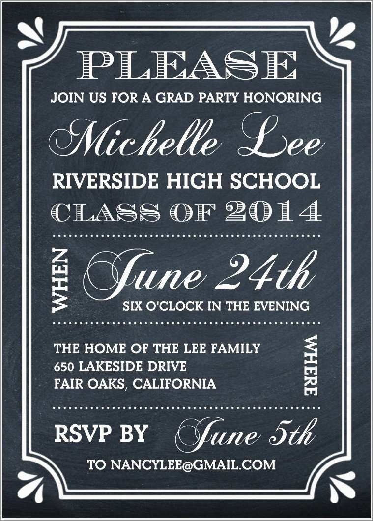 College Graduation Party Invitations Templates Free Awesome - Free Printable Graduation Party Invitations 2014