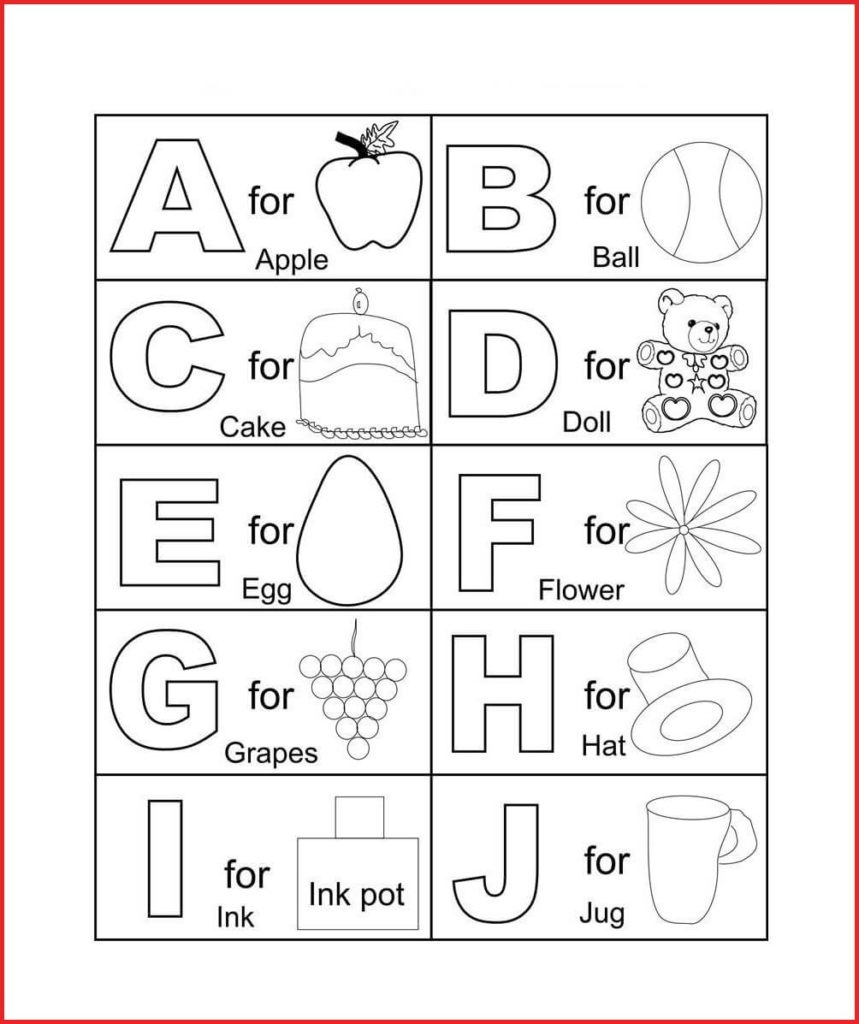 Coloring Book World ~ Colorings Free Printable Letter I For - Free Printable Alphabet Coloring Pages