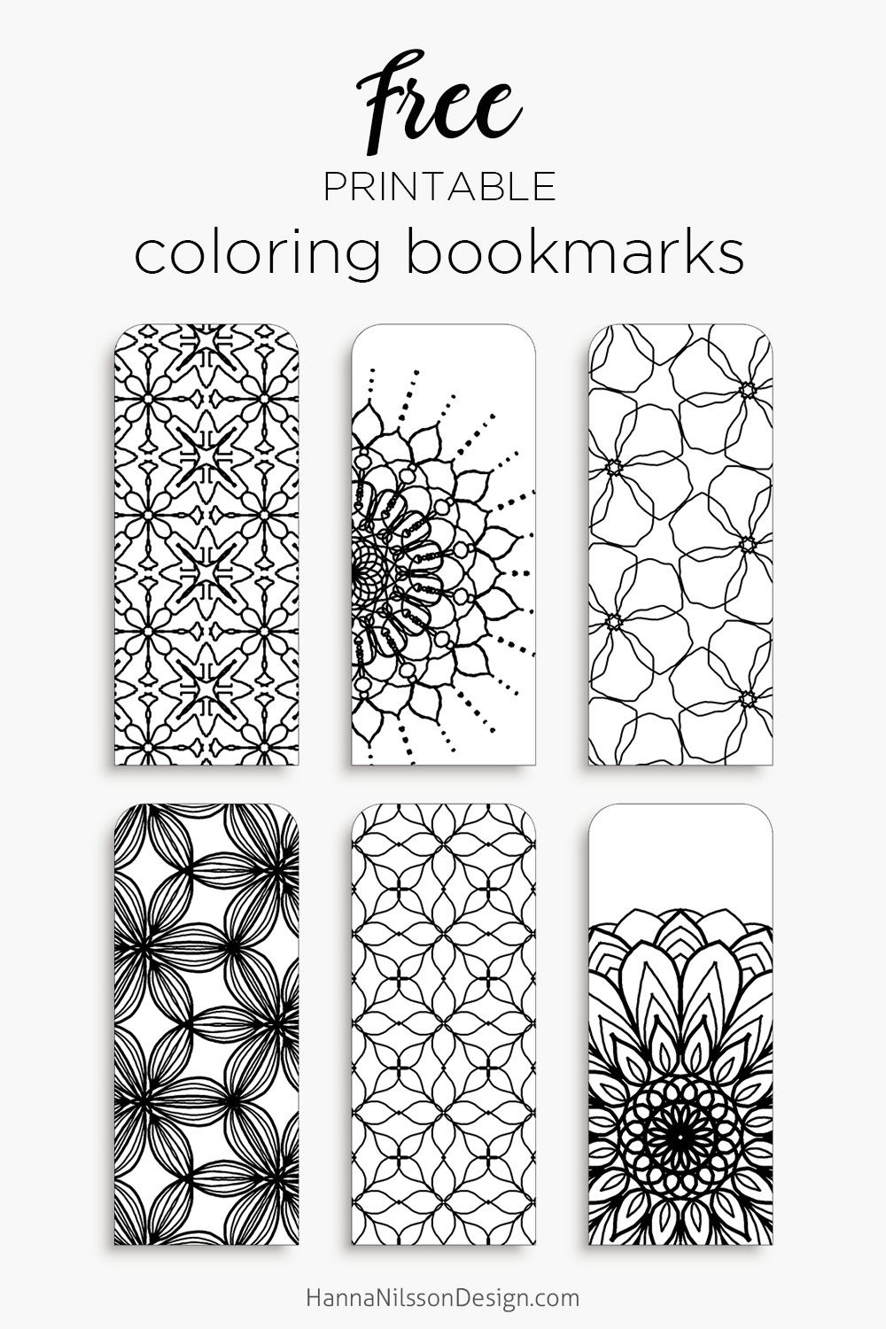 Coloring Bookmarks – Print, Color And Read | Bookmarks | Bookmark - Free Printable Bookmarks To Color