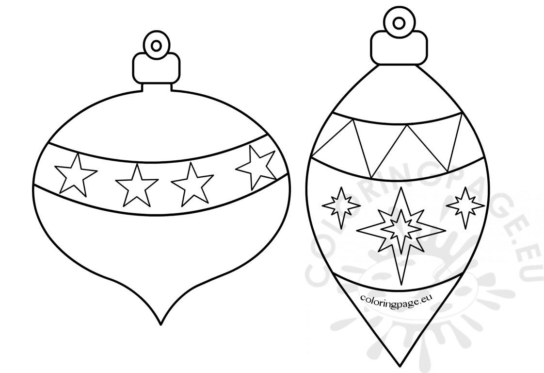 Coloring ~ Coloring Printable Christmas Ornaments Free Ornament - Free Printable Ornaments To Color