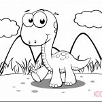 Coloring ~ Dinosaur Pictures To Color Online For Kids List Of   Free Printable Dinosaur Coloring Pages