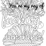 Coloring Ideas : 1840D37706A73E0C394A077851E5964E Focus Free   Free Printable Swear Word Coloring Pages