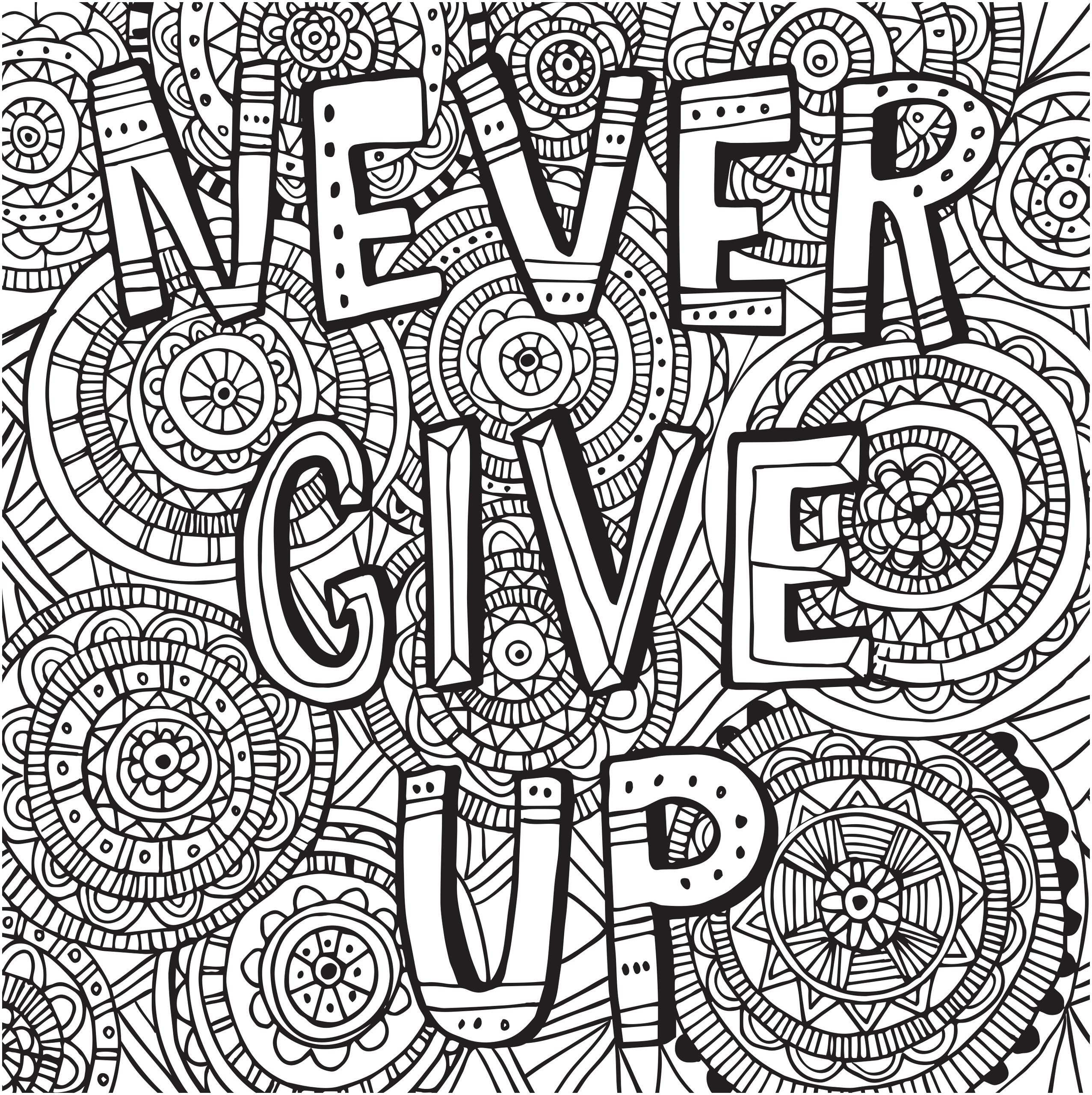 Coloring Ideas : Free Printable Quotes Coloring Pages Best Fresh - Free Printable Inspirational Coloring Pages