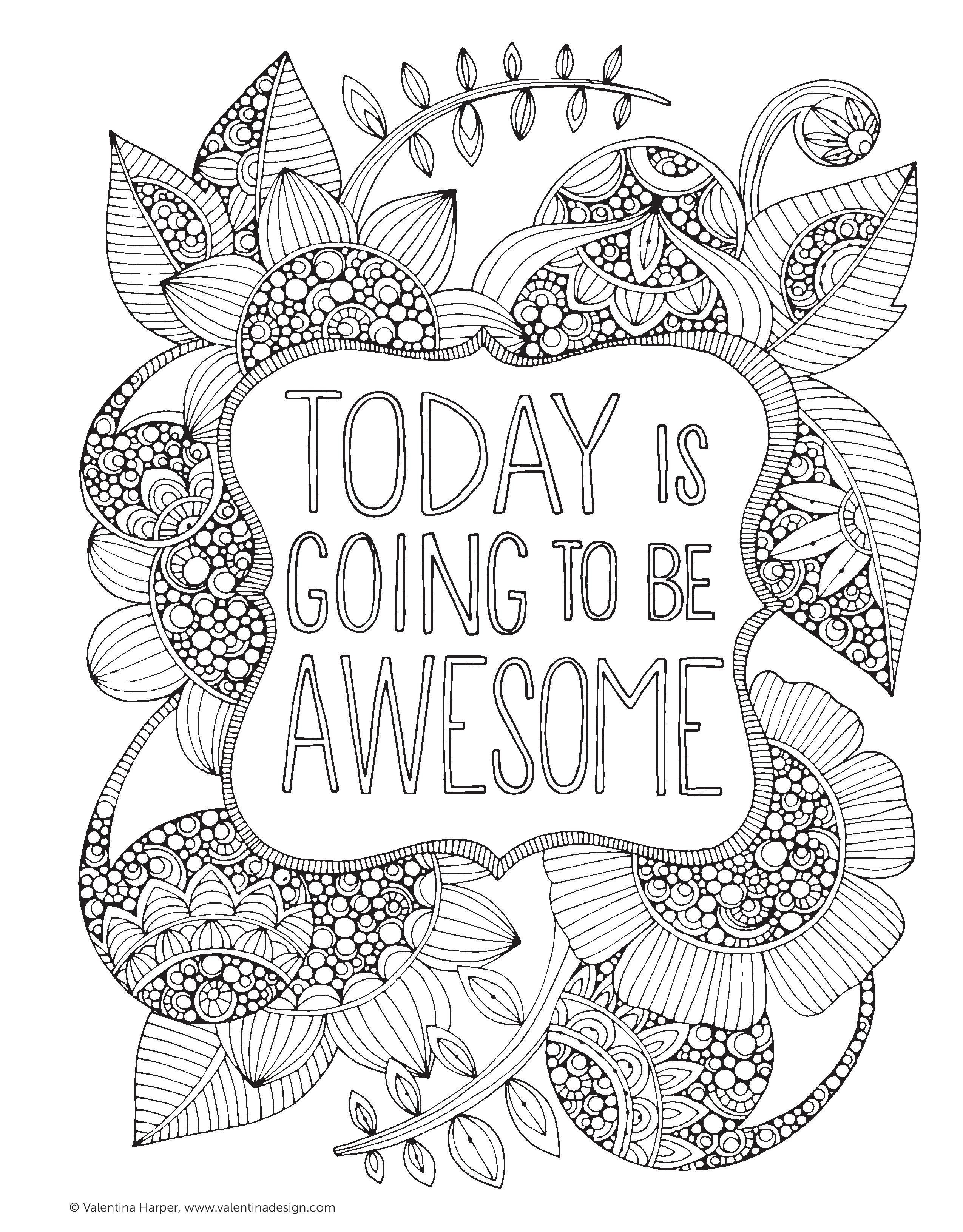 Coloring Ideas : Inspirational Quotes Coloring Pages Positivelegant - Free Printable Inspirational Coloring Pages