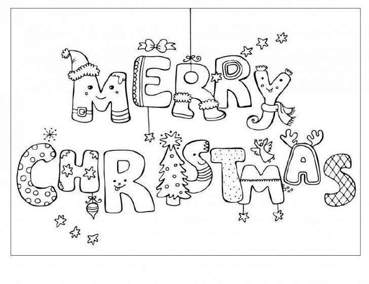 Free Printable Christmas Cards To Color