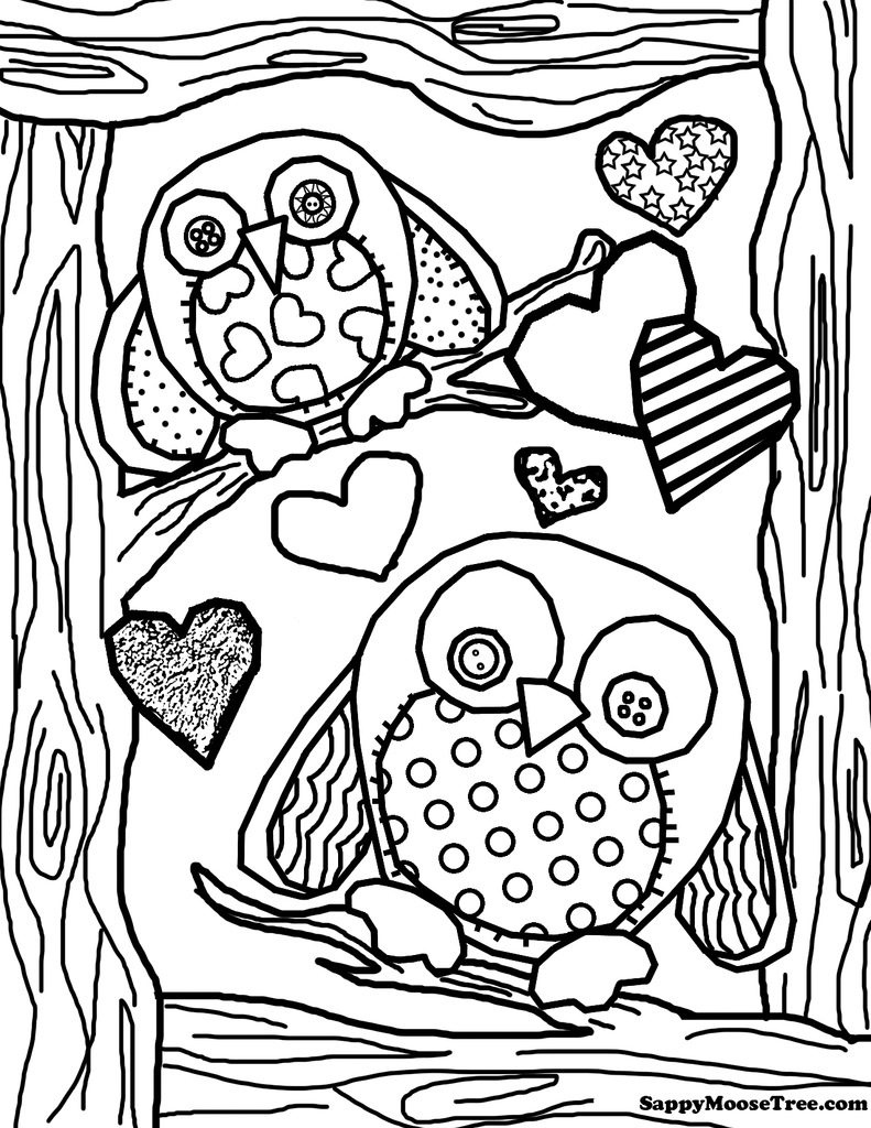 Coloring ~ Owl Coloring Pages Cute Printable To Print Foree Girls - Free Printable Owl Coloring Sheets