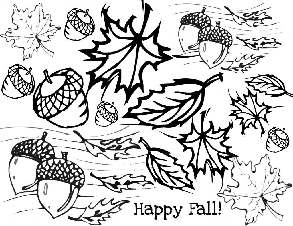 Coloring Page ~ Remarkable Free Fall Coloring Pages Forults Autumn - Free Fall Printable Coloring Sheets